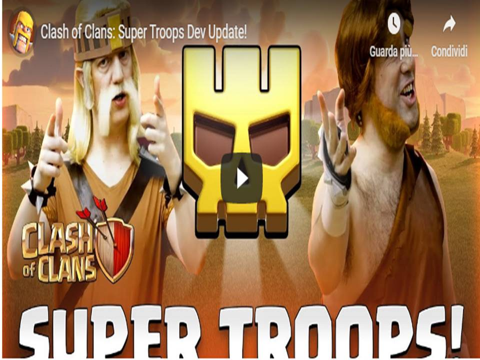 Clash of Clans - In arrivo le Super Truppe!