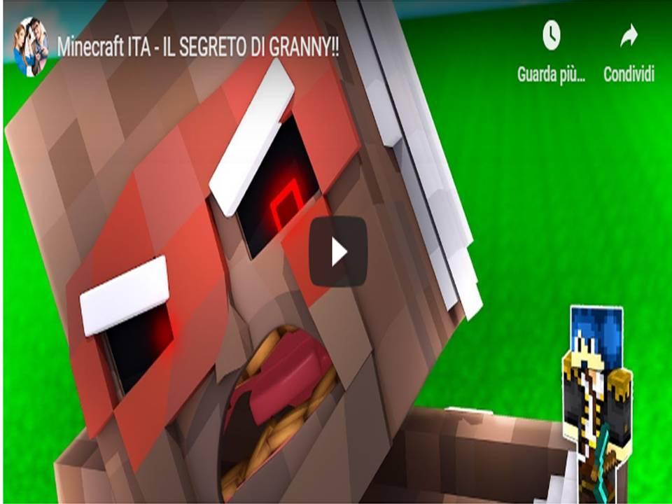 Minecraft ITA - IL SEGRETO DI GRANNY!!