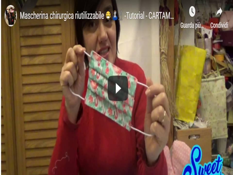 MASCHERINA - chirurgica riutilizzabile, CARTAMODELLO GRATIS Cucito Creativo