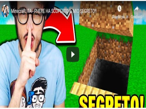 Minecraft ITA – PHERE HA SCOPERTO IL MIO SEGRETO!!