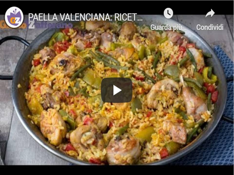 Paella alla valenciana - in questo tutorial vi spiegheremo come preparare la paella, un piatto tipico Spagnolo, a base di riso