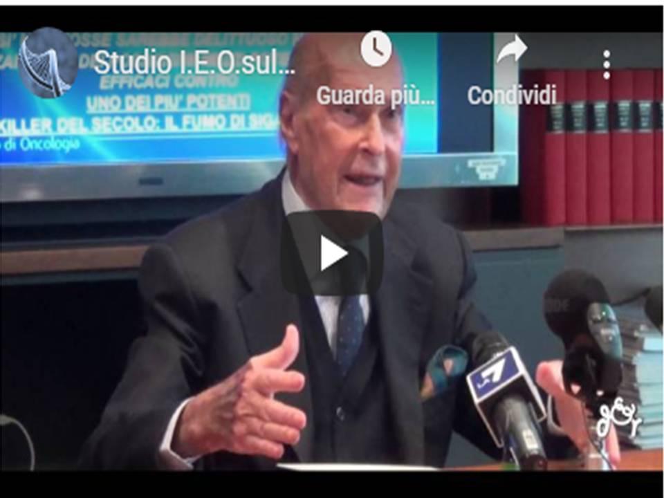 Prof: Veronesi, Dott. Cipolla - Studio I.E.O.sulla Sigaretta Elettronica