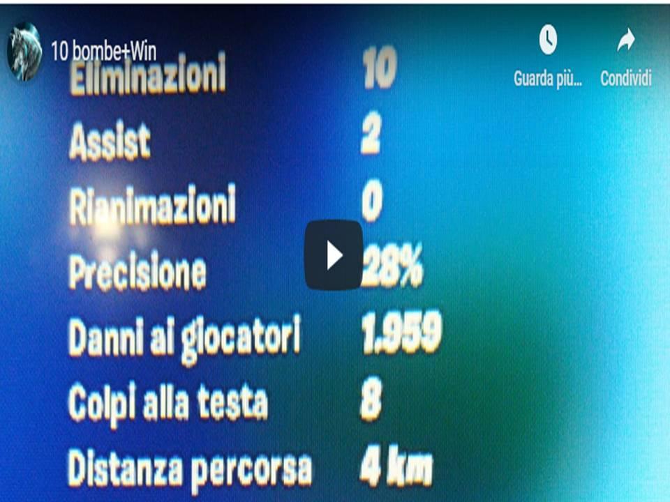 STORIA DI UNA VITTORIA REALE - FORTNITE - 10 bombe+Win - EnerJzed Josephk09