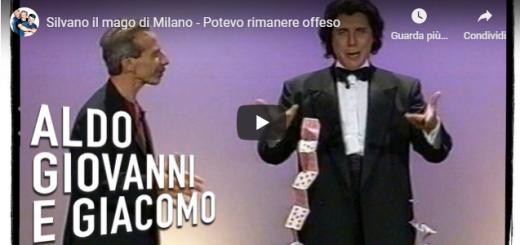 Silvano il mago di Milano è pronto a stupire tutti con l'aiuto di Aldo Giovanni e Giacomo.