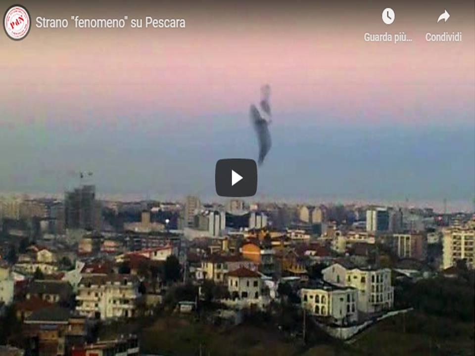 """Spazio Cosmico - Strano """"fenomeno"""" su Pescara"""