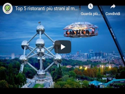 Top 5 ristoranti più strani al mondo!