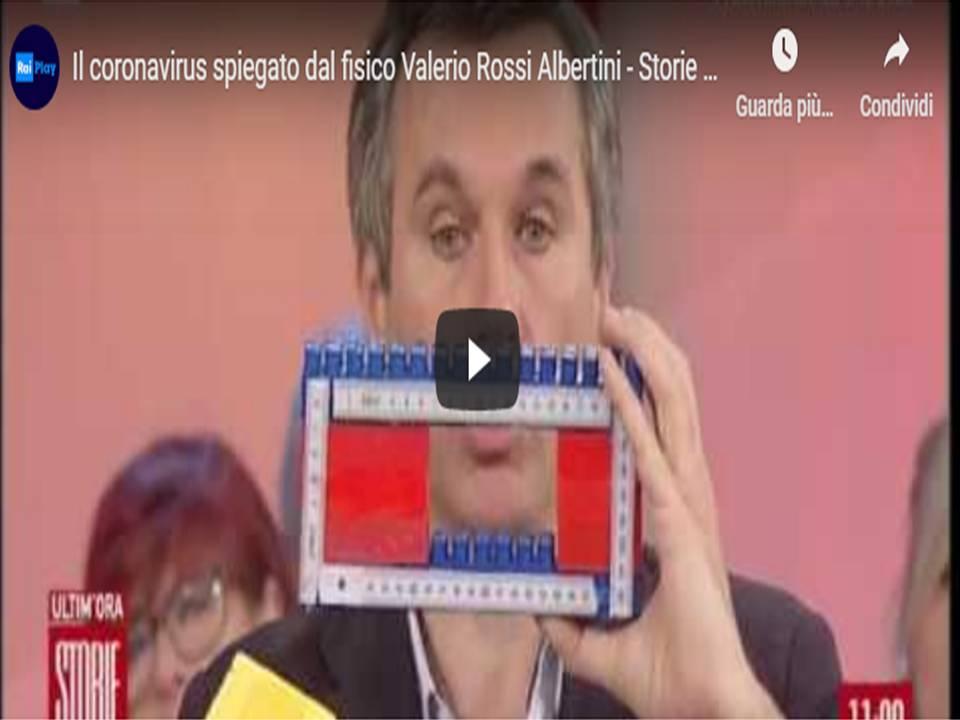 Valerio Rossi Albertini - il fisico spiega come il sistema immunitario reagisce al coronavirus