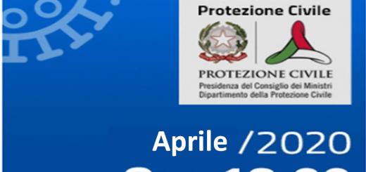 Top List Bollettini aprile - casi in Italia nel mese di Aprile.
