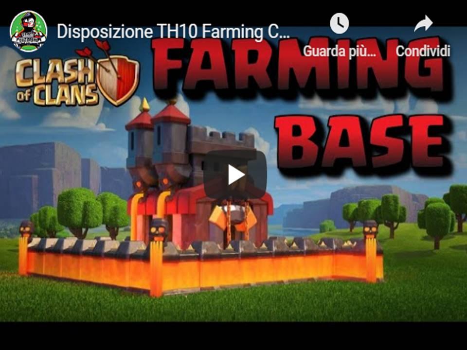 Clash of Clans - Disposizioni TH10 avanzata per Farming personalizzata