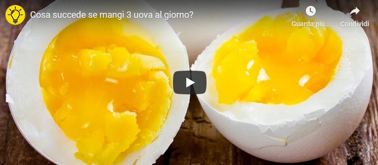 Cosa succede se mangi 3 uova al giorno?