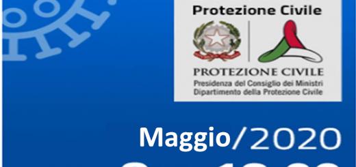 Bollettini Covid-19 i casi in Italia nel mese di Maggio