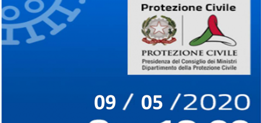 Bollettino Covid-19: i casi in Italia alle ore 18 del 9 maggio