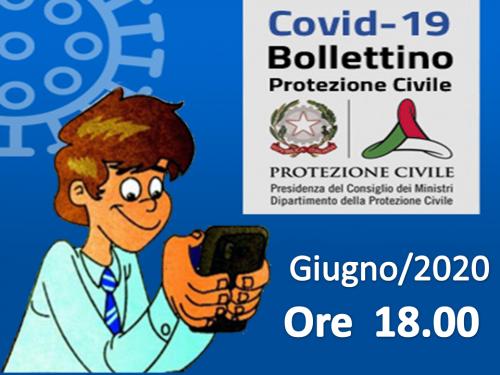 Top List  Bollettini Covid-19 – Giugno