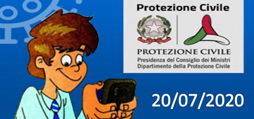 Bollettino Covid-19: i casi in Italia alle ore 18 del 20 luglio