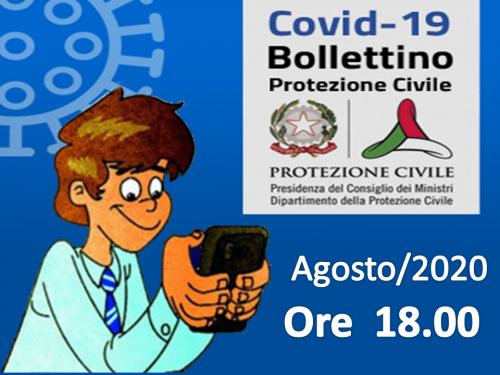 Top List  Bollettini Covid-19 – Agosto