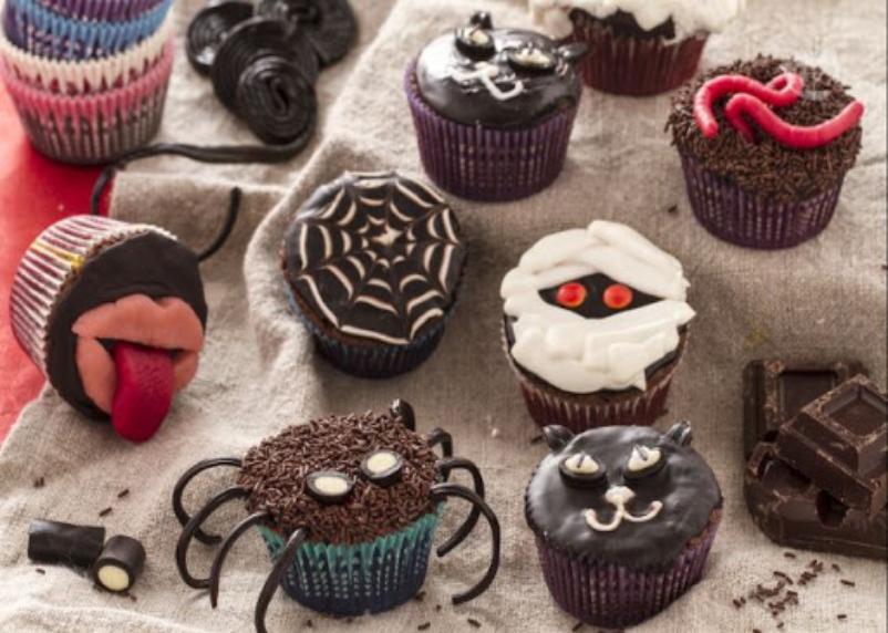 Cupcake mostruosi di Halloween