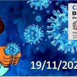 Bollettino Covid-19: i casi in Italia alle ore 18 del 19 novembre