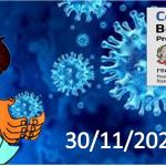 Bollettino Covid-19 i casi in Italia alle ore 18 del 30 novembre