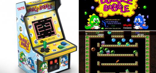 Bubble Bobble - videogioco arcade (1986)