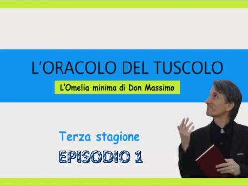 L'oracolo del Tuscolo – 3° Stagione Episodio 1