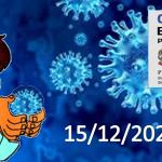 Bollettino Covid-19 i casi in Italia alle ore 18 del 15 dicembre