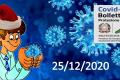 Bollettino Covid-19: i casi in Italia alle ore 18 del 25 dicembre