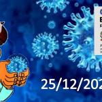 Bollettino Covid-19 i casi in Italia alle ore 18 del 25 dicembre