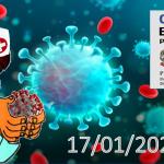 Bollettino Covid-19 i casi in Italia alle ore 18 del 17 gennaio